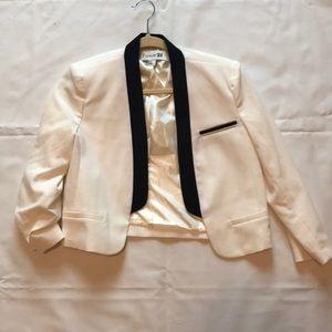 White Forever21 blazer